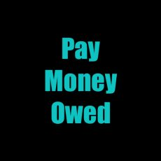 Pay Money Owed