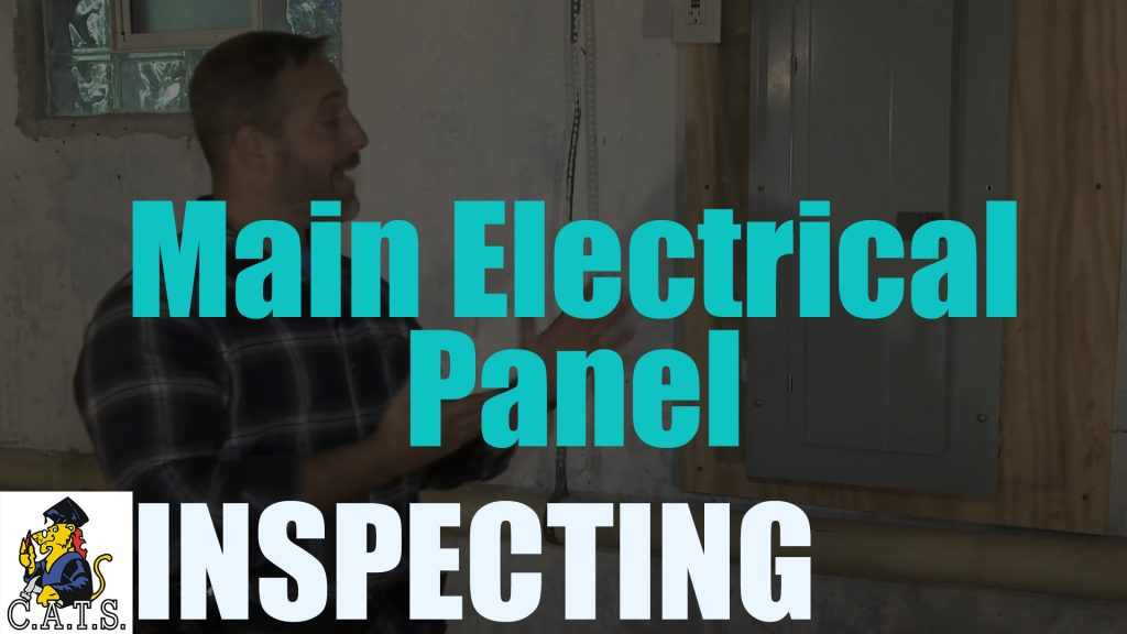 Inspecting: Main Electrical Panel