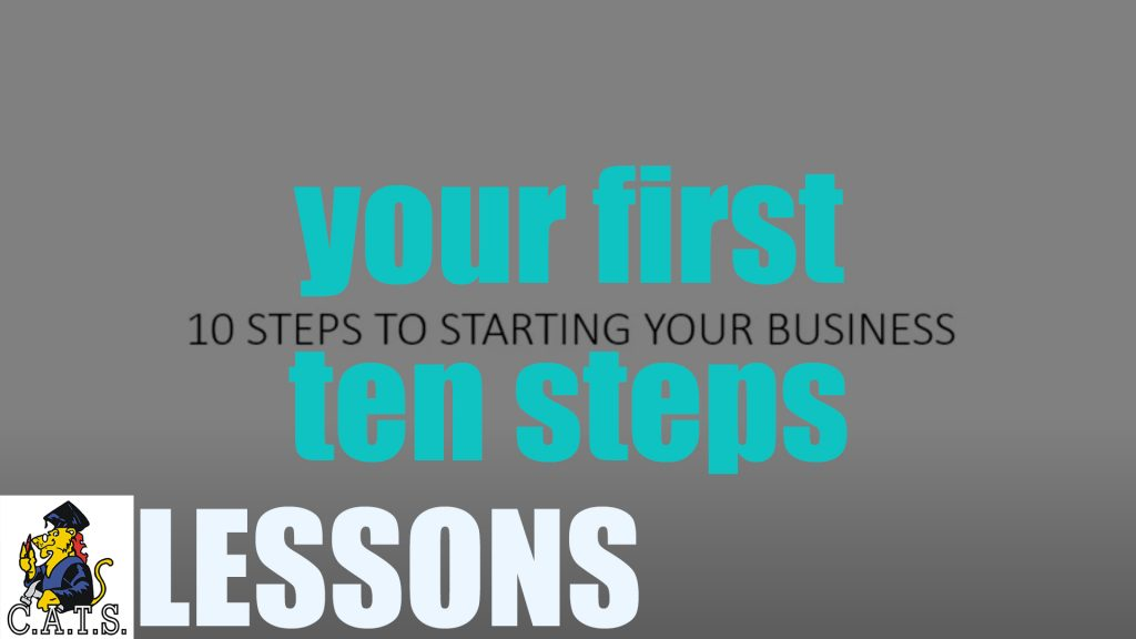 Your First 10 Steps