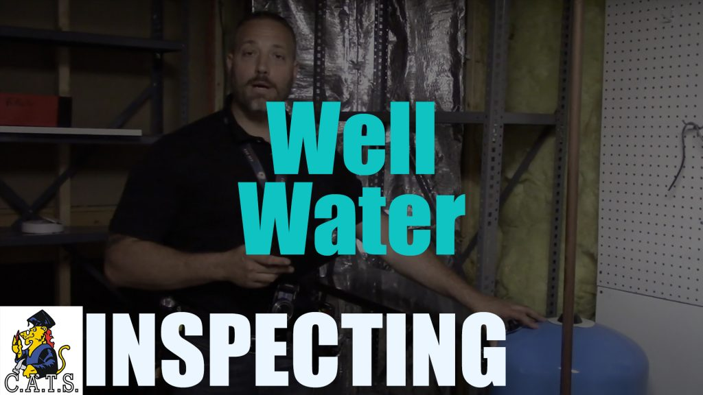 Inspecting: Well Water