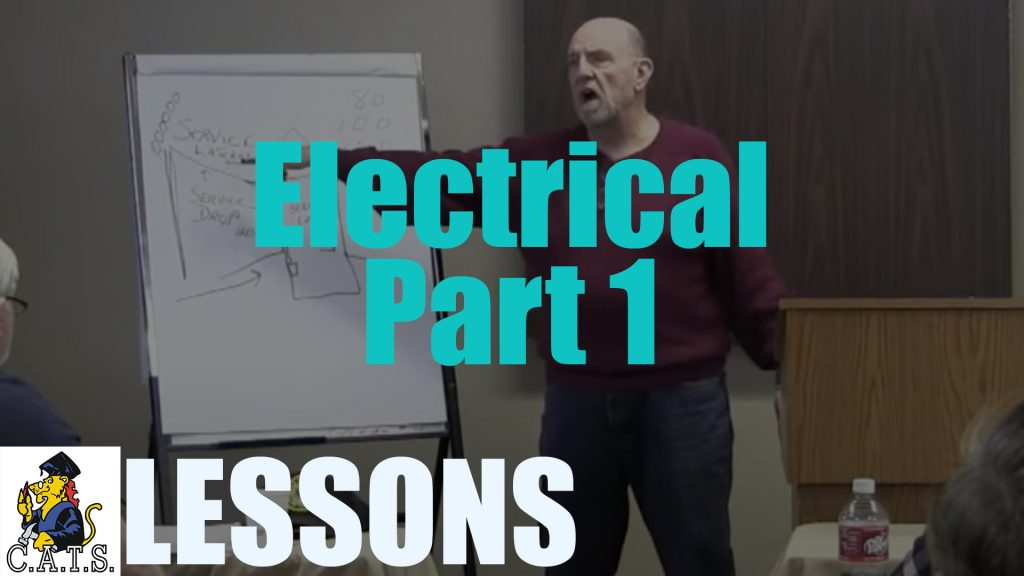 Lesson: Electrical – Part 1