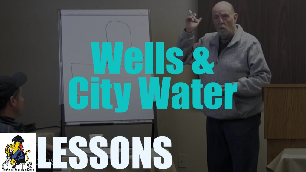 Lesson: Wells and City Water